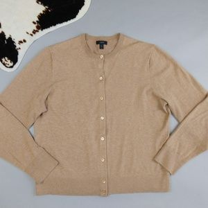 J. Crew Cotton Jackie Cardigan Size XXL Sweater